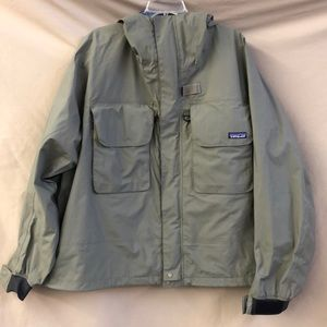 Patagonia fishing rain coat/jacket